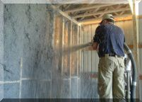 Cellulose wall spray